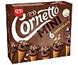 Mini conos con helado de chocolate Cornetto 216 g Cornetto Frigo