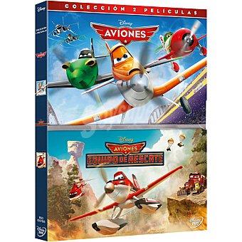Pack: Aviones + Aviones: Equipo De Rescate DVD