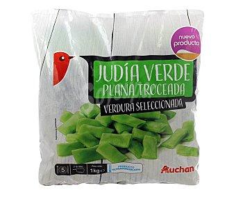 Auchan Judías verdes planas troceadas 1 kg