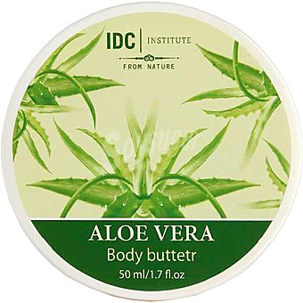 IDC INSTITUTE crema corporal Aloe Vera  tarro 50 ml