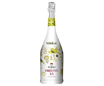 Viña Albali Vino blanco verdejo y frizzante con bajo contenido en alcohol Botella de 75 cl