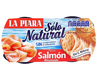 La Piara Paté de Salmón Pack 2 Unidades de 77 Gramos