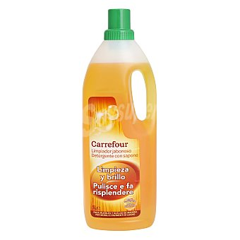 Carrefour Limpiador jabonoso para madera 1 l
