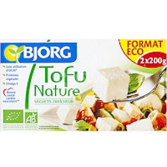 Bjorg Tofú natural bio Bandeja 400 g
