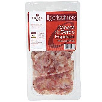 Frial Cabeza de cerdo especial en finas lonchas sin gluten Envase 150 g