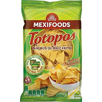 Mexifoods Nachos fritos de maíz tortilla chips Totopos Bolsa 300 g