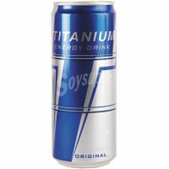 TITANIUM Sleek Refresco energético Lata 33 cl