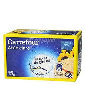 Carrefour Atún Claro en Aceite de girasol 143 g