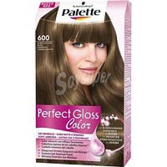 PALETTE Perfect Gloss Tinte rubio osc. nuez N. 600 Caja 1 unid