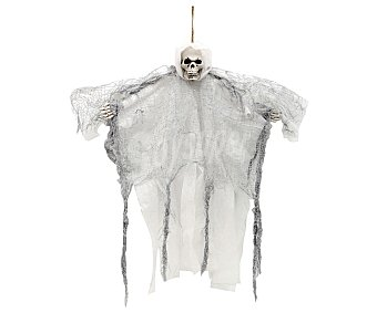 My other me Decoración de muerte alada gris colgante de 51 cm,