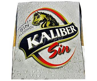 Kaliber Cerveza Sin Alcohol Pack 6 Unidades