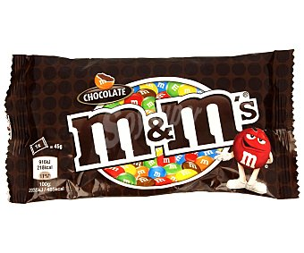 M&M's Grageados de chocolate 45 Gramos