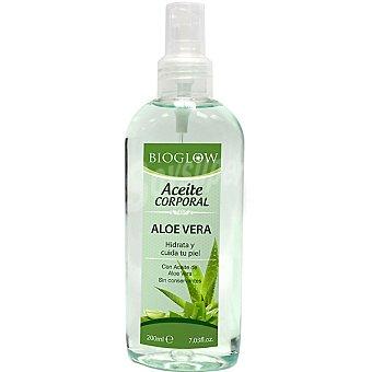 BIOGLOW Aceite corporal con aceite de Aloe Vera hidrata y cuida la piel spray 200 ml Spray 200 ml