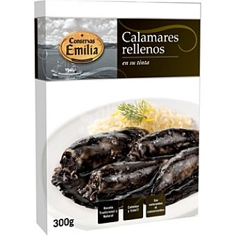 EMILIA Calamares rellenos en su tinta Estuche 300 g neto escurrido
