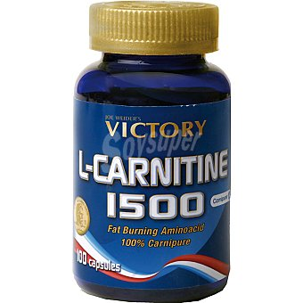 VICTORY L-Carnitina 1500 Control de peso quemagrasa Envase 100 capsulas