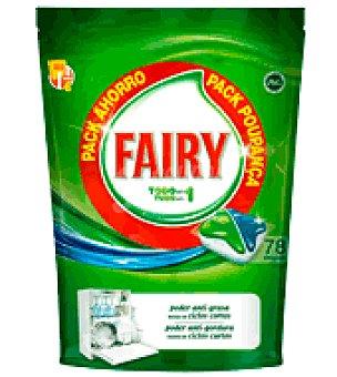 Fairy Lavavajillas Máquina Original Todo en Uno en cápsulas Pack Ahorro 78 ud