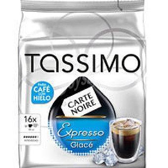 Tassimo Café Expresso Glace Paquete 16 monodosis
