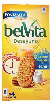 Belvita Galleta belvita desayuno Paquete 300gr - 6 bolsitas de 4 galletas