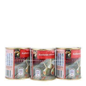 Carrefour Aceituna rellena de pimiento 150 g