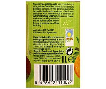 Lambda Zumo melocotón-manzana ecológico 1 l