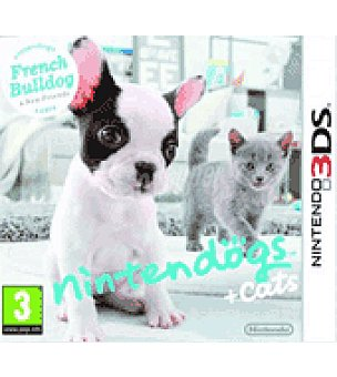 Nintendo Juego 3DS dogs + gatos bulldogs nintendo