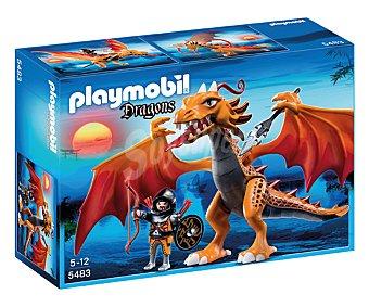PLAYMOBIL Playset Dragón de fuego, modelo 5483 Dragons 1 unidad