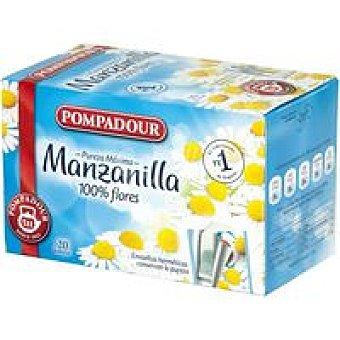 Pompadour Manzanilla Caja 20 sobres