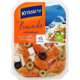 Krissia Bocado de surimi mediterráneo Bandeja 150 g