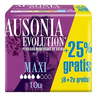 Ausonia Compresa Discreet maxi 12u