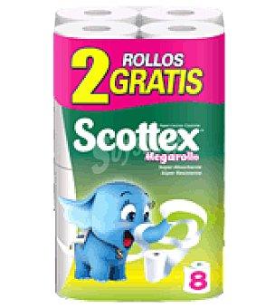Scottex Papel cocina megarollo 6+2 Rollos