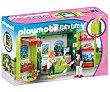 Escenario de juego Tienda de flores en cofre, City Life, 5639 playmobil City Life 5639  Playmobil