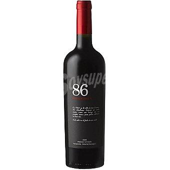86 Winegrowers Vino tinto roble Castellón Botella 75 cl