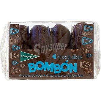 EL CORTE INGLES Bombón Roscas caja 220 g 4 unidades