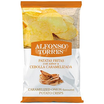 Alfonso Torres Patatas fritas con sabor a cebolla caramelizada 120 g