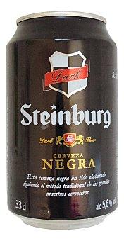 Steinburg Cerveza negra Lata 330 cc