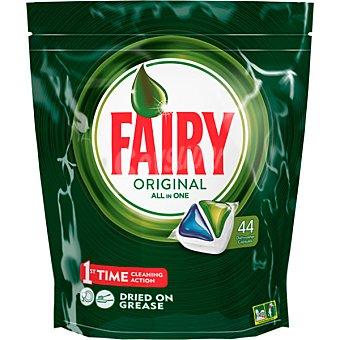 Fairy Detergente lavavajillas todo en 1 original envase 46 pastillas 1 envase 46 pastillas