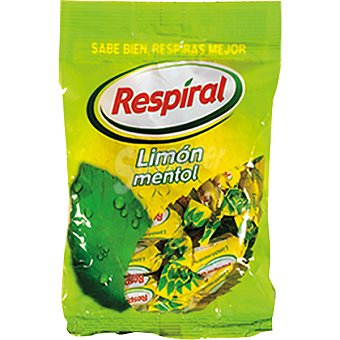 Respiral Limón mentol con azúcar Bolsa 350 g