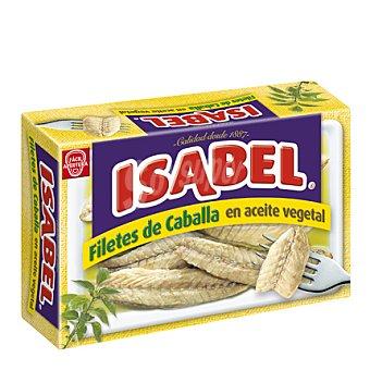 Isabel Filetes de caballa en aceite vegetal Lata de 81 g