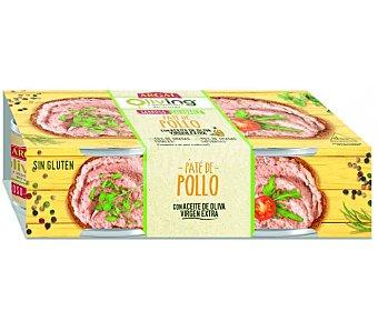 Campofrío Pechuga de pollo Pack 2 x 80 g