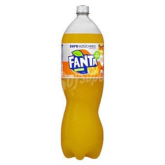 Fanta Zero naranja Botella 2 lt