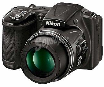 """NIKON L830 Cámara Bridge 16 Megapixeles, alta definición, 3"""" pantalla abatible,"""