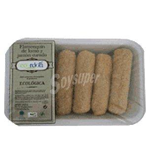 Embutidos Cordon Flamenquin de lomo y jamón curado 350 g