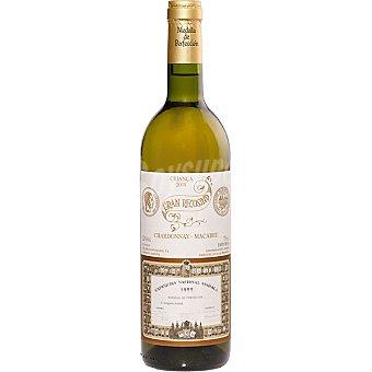 Gran recosind Vino blanco chardonnay macabeo D.O. Emporda botella 75 cl Botella 75 cl