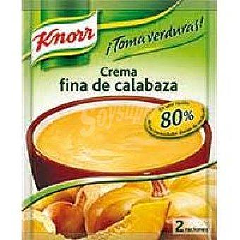 Knorr Crema fina de calabaza sobre 61 g