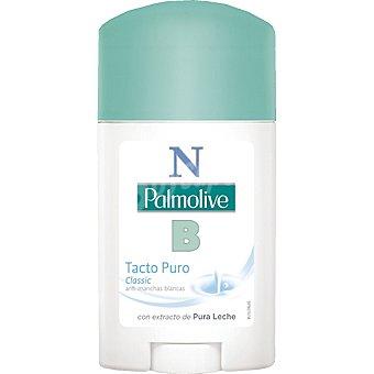 Palmolive desodorante Tacto Puro Classic con extracto de pura leche en stick  envase 50 ml
