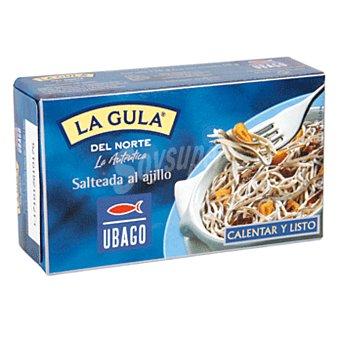 Ubago La gula del Norte salteada al ajillo Lata 50 g neto escurrido