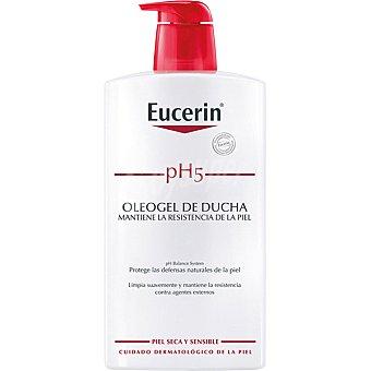 Eucerin Oleogel de ducha pH5 para piel seca y sensible Frasco 1000 ml