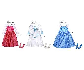 Rik&Rok Auchan Disfraz de princesa con accesorios ROK