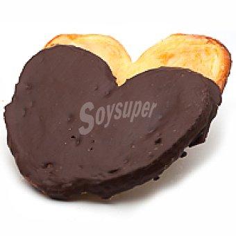 Eroski Palmera yema chocolate 2u