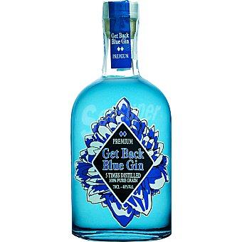 GET BACK BLUE GIN Premium ginebra nacional botella 70 cl
